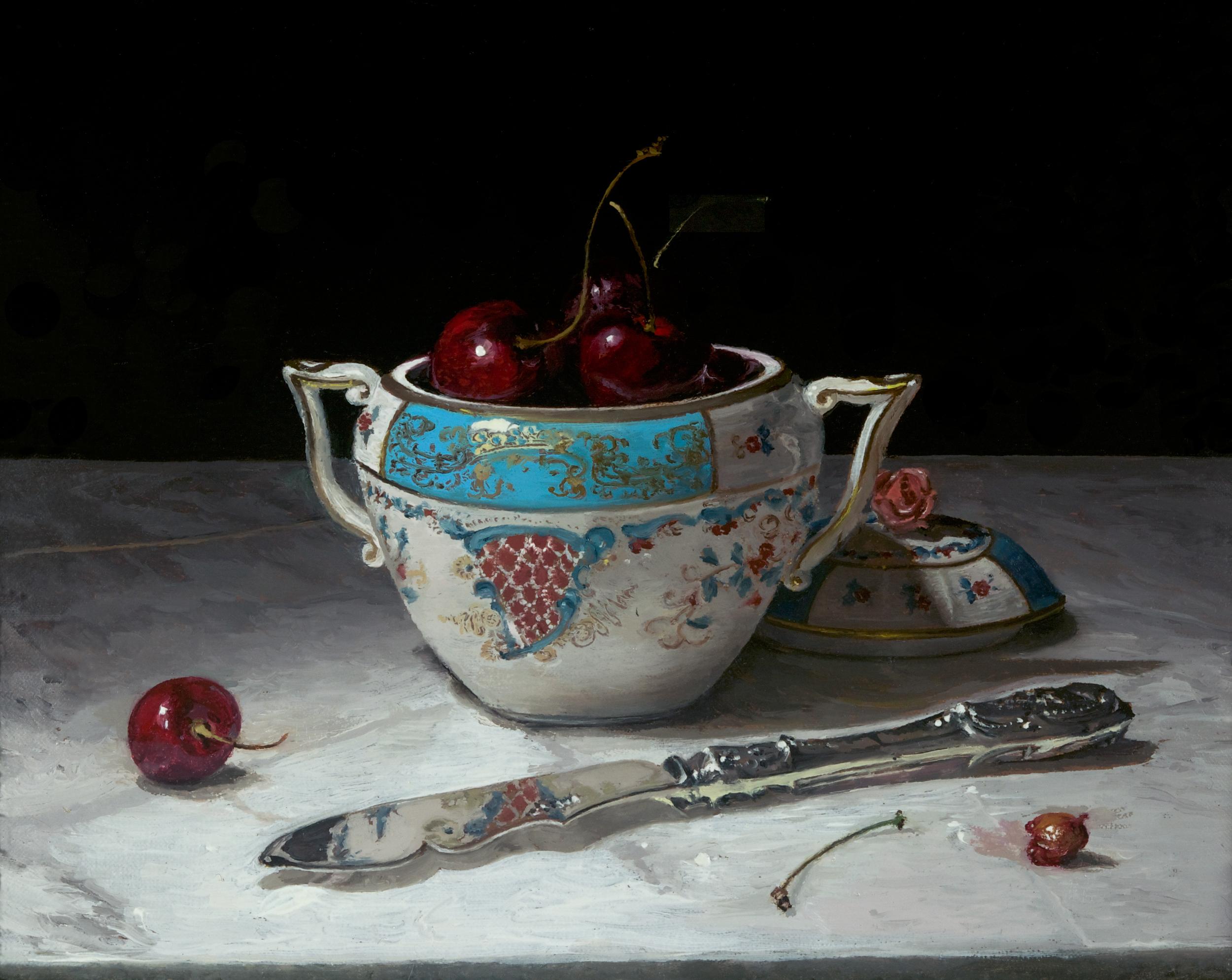 Cornucopia with Cherries