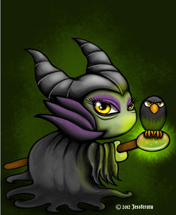 Cute Little Maleficent