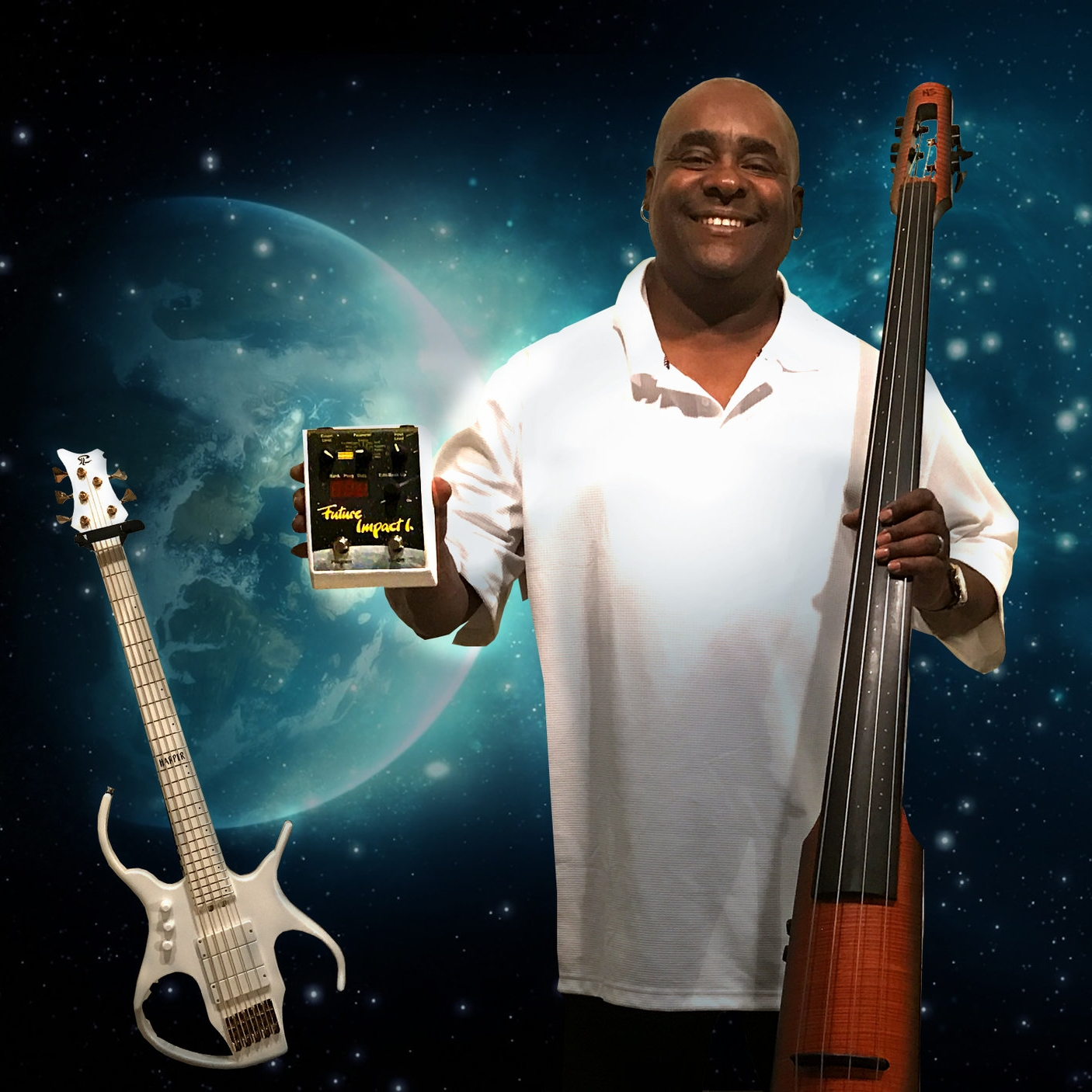 "Robert Harper   ""The tracking on this Future Impact Bass Synth Pedal is very accurate."""