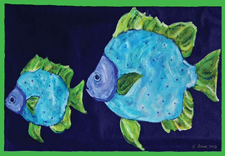 Flounder Placemat