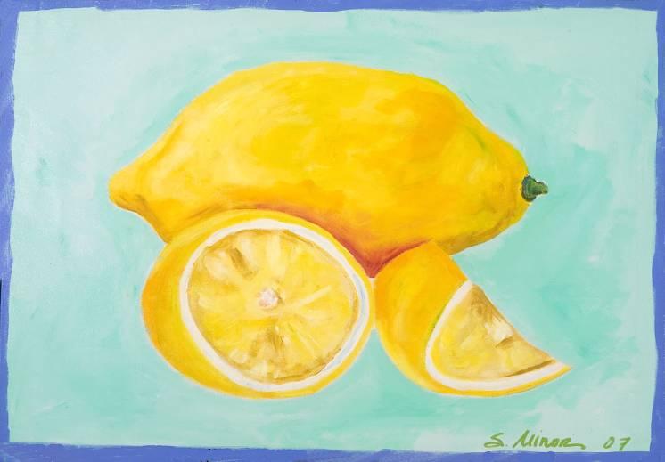 Lemons Placemat