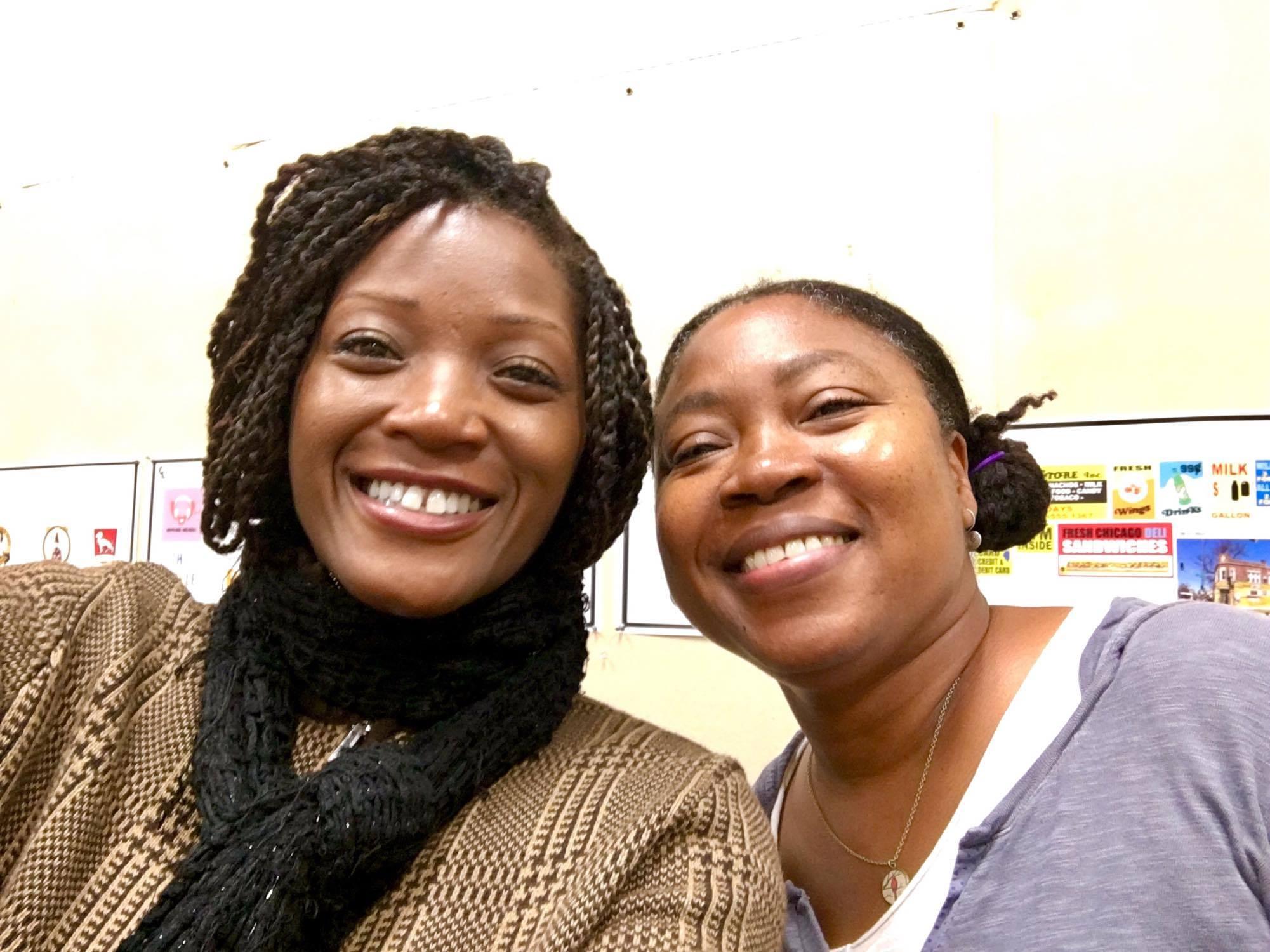 With director Tanya Hamilton