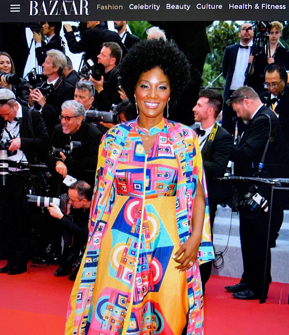 """Yolonda lands on the """"Best Dressed"""" list at Cannes 2019."""