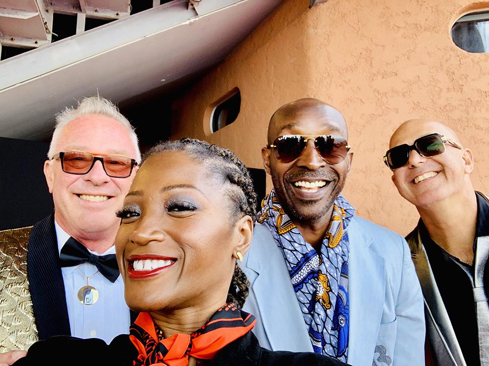 Selfie with Rob Morgan, P. David Ebersole & Todd Hughes