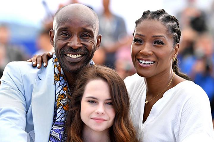 """Yolonda, Amber Havard & Rob Morgan, """"Bull"""" photocall at Cannes 2019."""