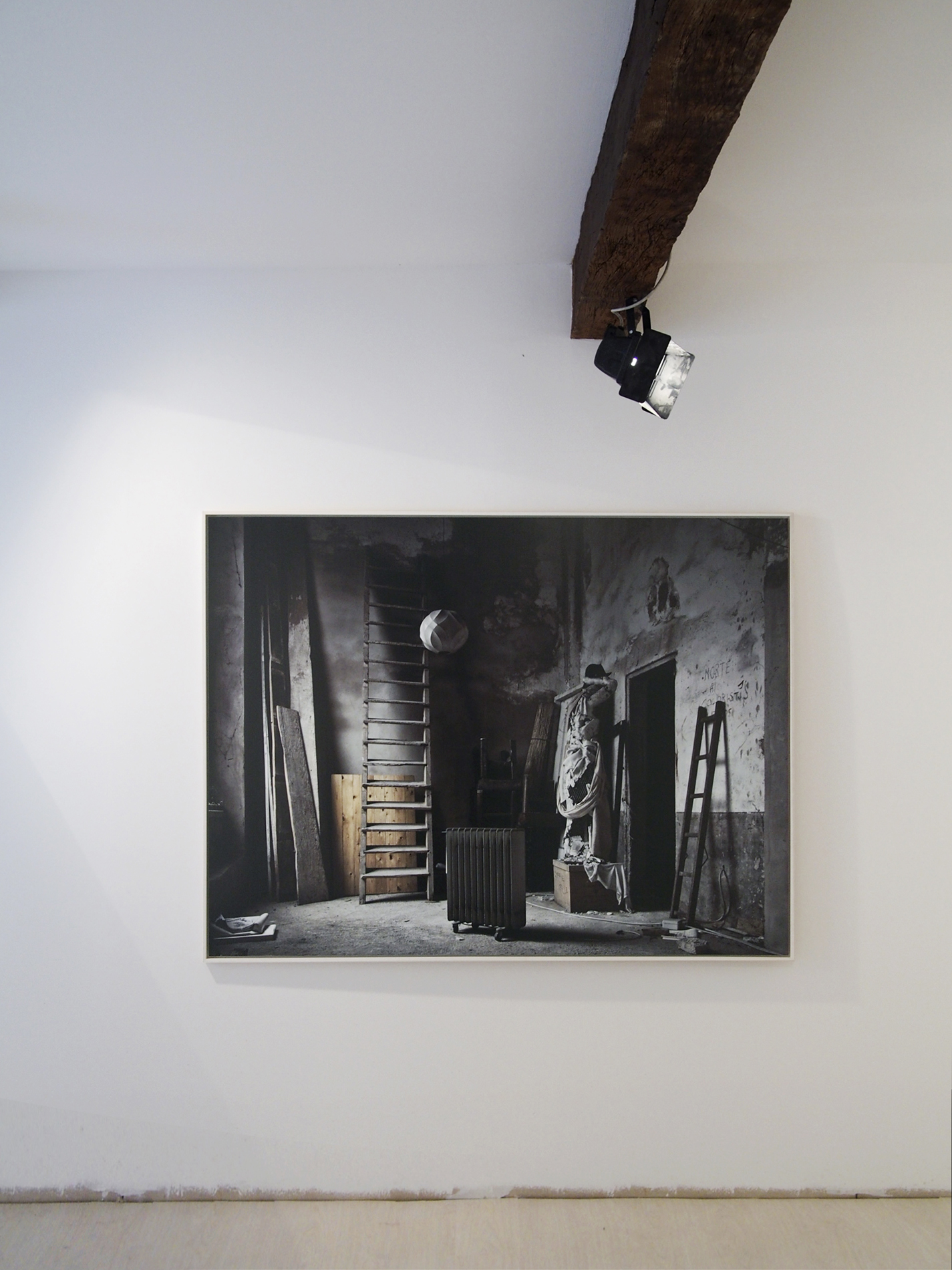 "Back at   ""The photographs as stage""  - Fotografia Europea 2013 -Cambiare"