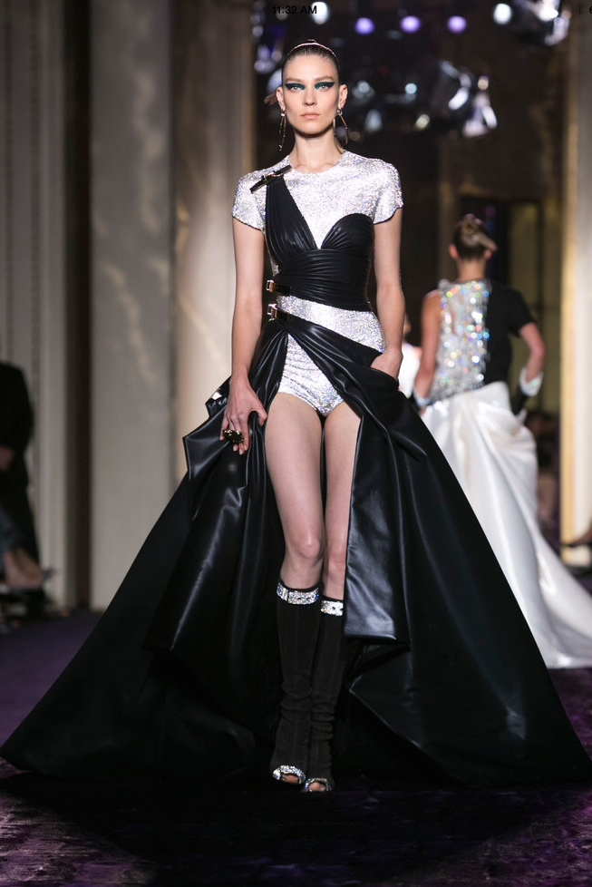 If Cinderella were into punk rock, I think she'd love this piece from Versace