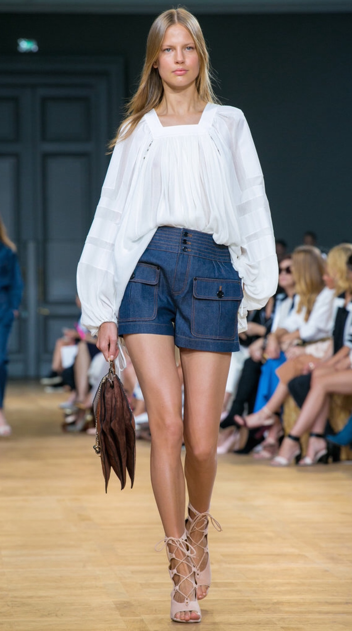 Tailored shorts by Chloe