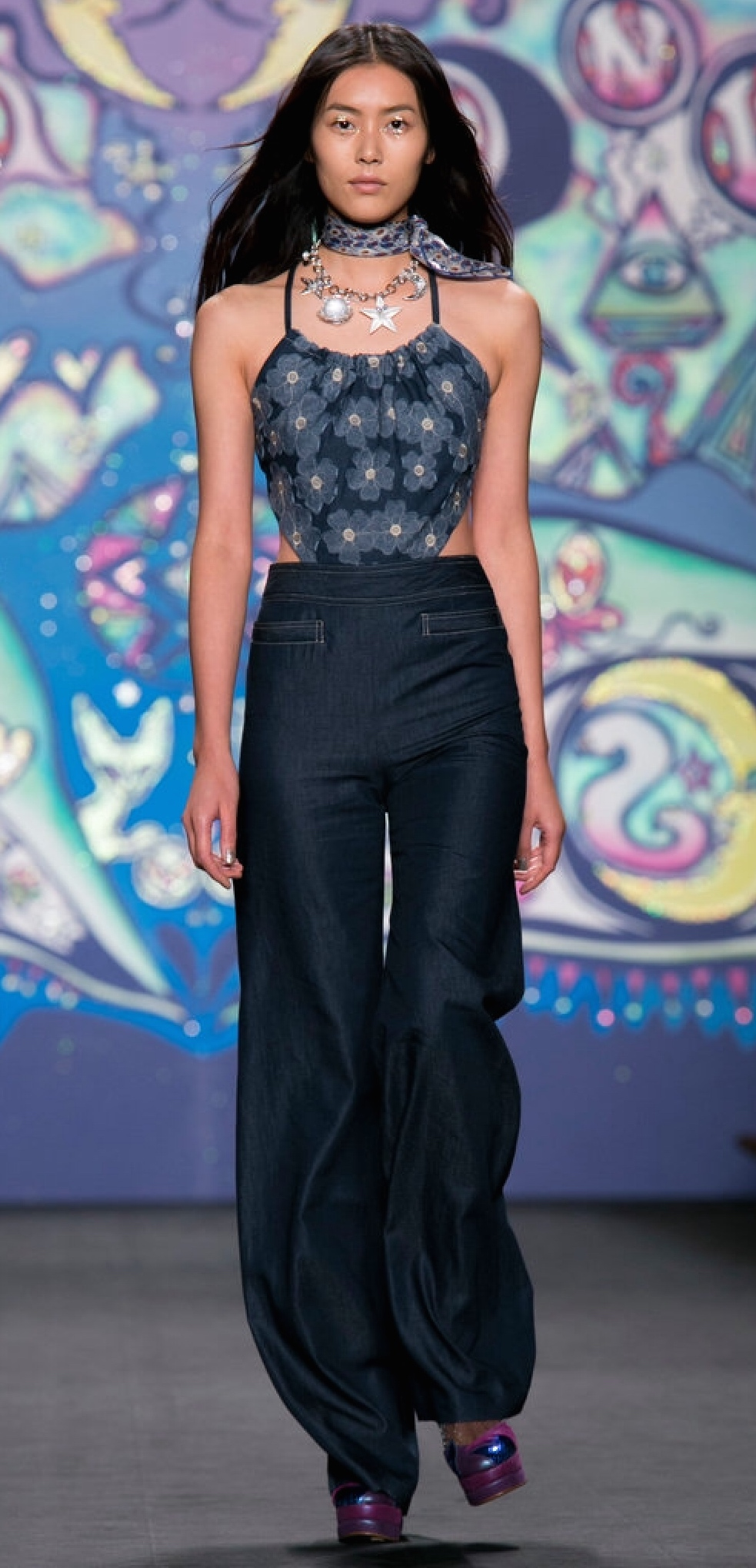 High Waisted & Funky by Anna Sui