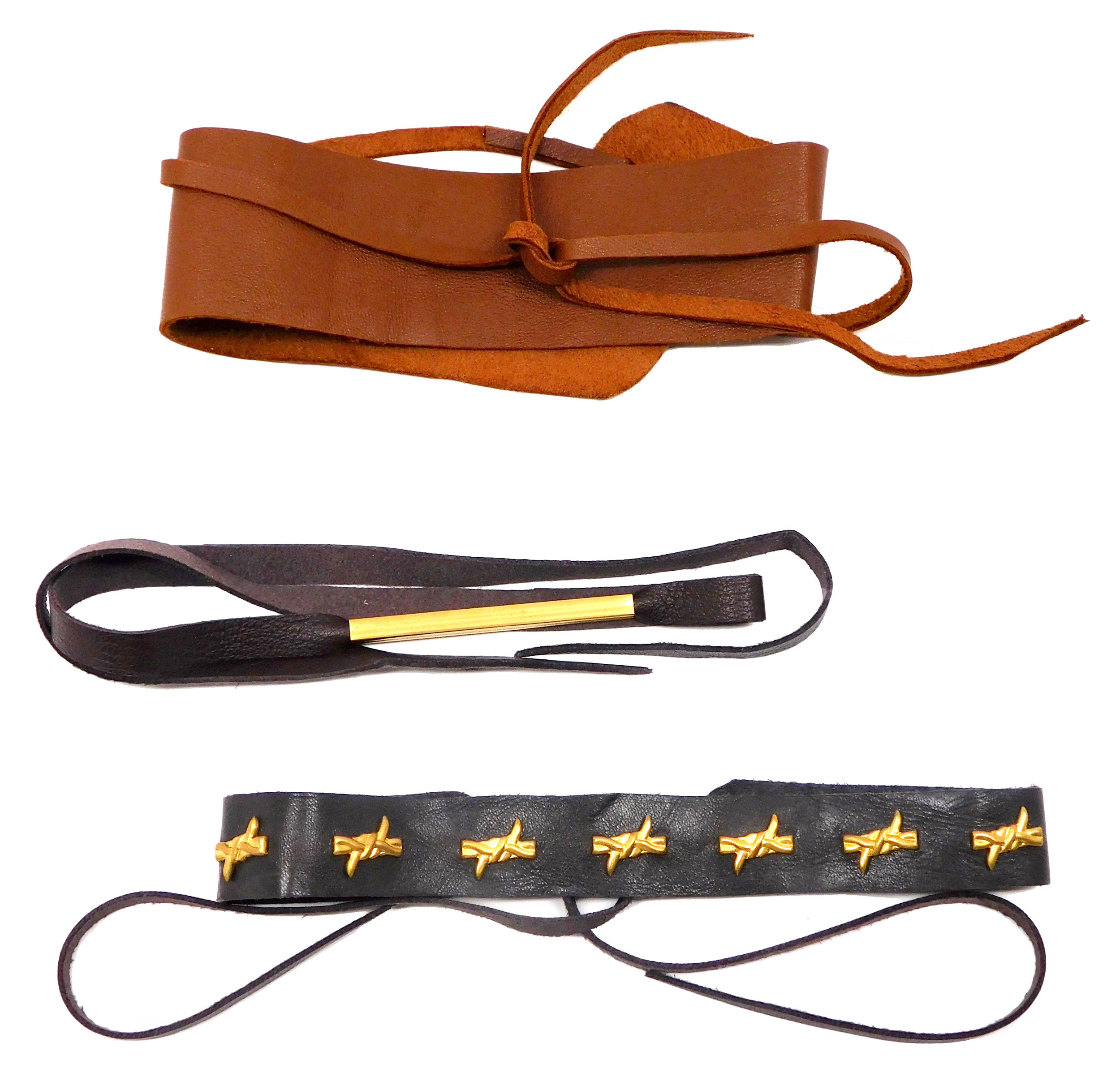Leather Chokers from HakNik