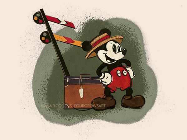 Mr. Mouse Takes a Trip…