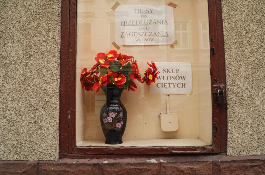 Window display on Ulica Dluga in Krakow