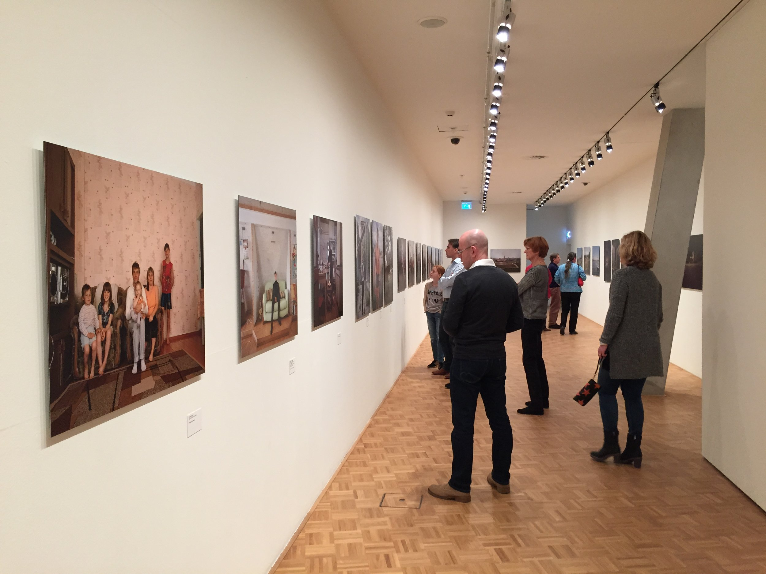 Exhibition at the Kunsthal, Rotterdam
