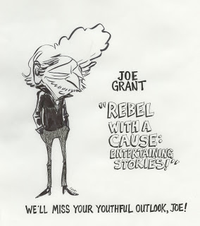 Caricature of Joe by the amazingJohn Musker