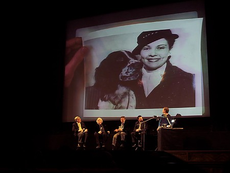 """A presentation at the El Capitan theater in Hollywood, where Andreas Deja showed a great photo of Joe's wife Jennie, and their pet cocker spaniel named Lady who inspired the film. Walt later had a writer write a Lady and the Tramp story for a major publication so he could lend credibility to the project, according to Joe. That always stung Joe a little bit I think because he felt Walt was intentionally diluting his authorship of the film. After Dumbo got huge raves for Joe and Dick Heumer, as the geniuses behind the film, Walt took offense at Joe and Dick getting such accolades and praise. He stormed into their offices once and threw down the latest issue of Time magazine with a photo of Joe and Dick as the makers of Dumbo, and Walt said pointedly, """"Well! I guess there's no need for me around here any more."""" Walt had been on his studios' South American good will/research trip for a large bulk of the time Dumbo was being developed and rightfully felt a little left out of the big hit, Dumbo. When Dumbo became a smash hit, it had to have hurt his already bruised ego and pride following all the less successful releases in the early forties like Fantasia, and Pinocchio. To leave and have the cheap quick little film made without his typical daily input, Dumbo, be the big hit."""