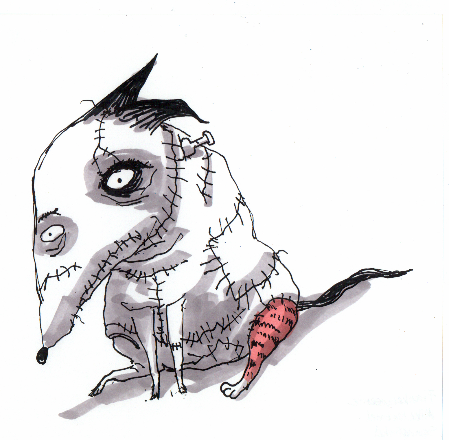 Concept Art For Tim S Frankenweenie Mike Gabriel Art