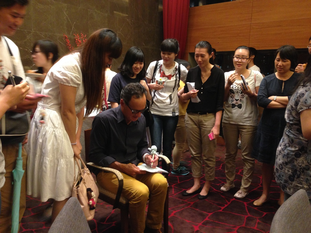 Who knew I had fans in China? I felt very humbled, and happy to have met them. Thank you, Shanghai, for making me feel so welcome and special! I will be back!