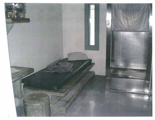 Cell at ADX Florence, the federal supermax prison in Colorado.