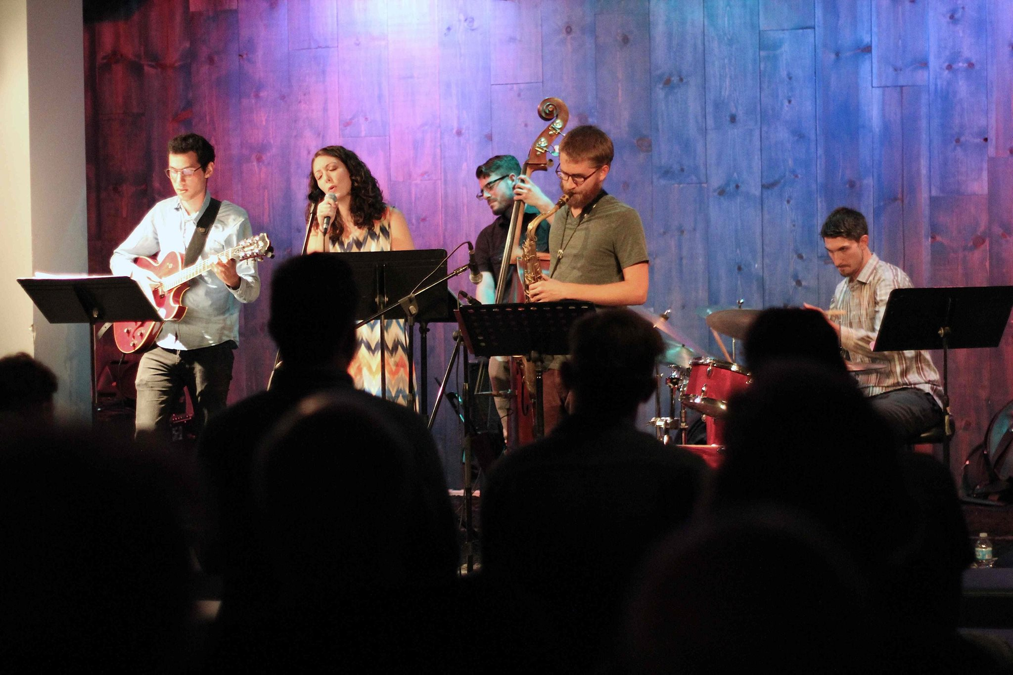 Trevor Anderies Quintet live at the Blue Whale