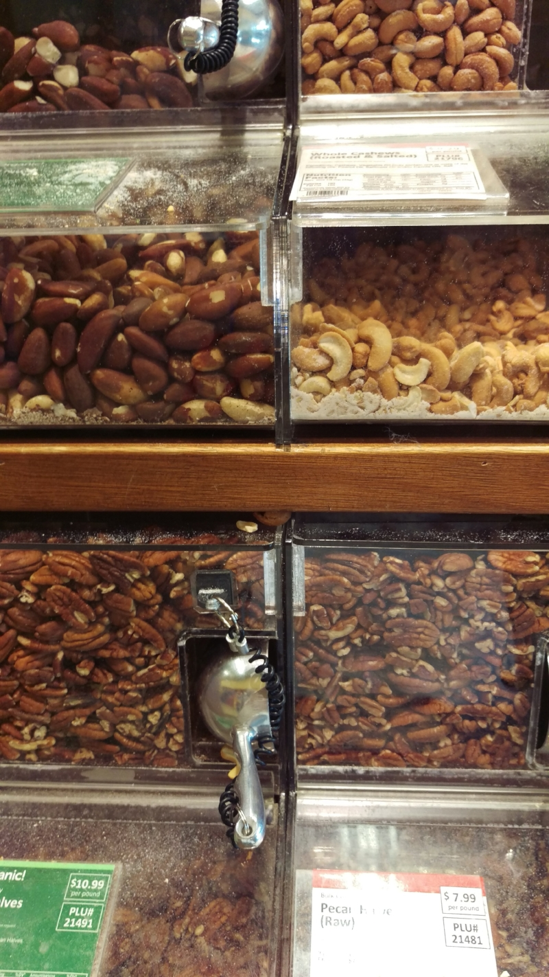 Nuts - a great vegetarian source of omega-3 fatty acids, good fats, fiber, protein and essential micronutrients