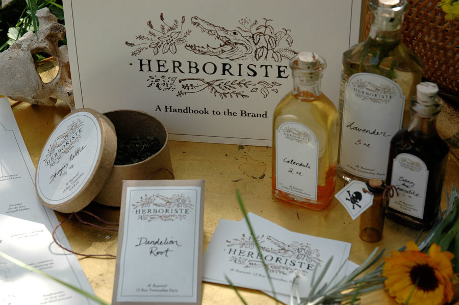 Herboriste Products by Liz Gill Neilson