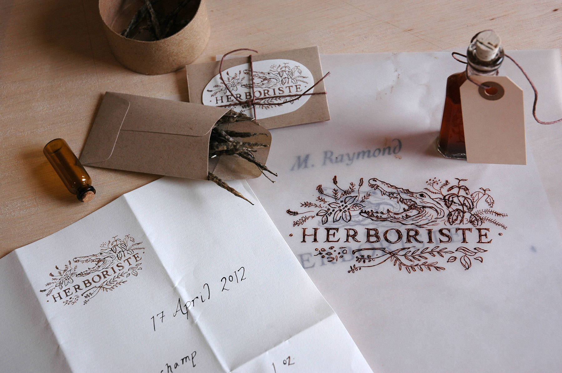 Herboriste by Liz Gill Neilson