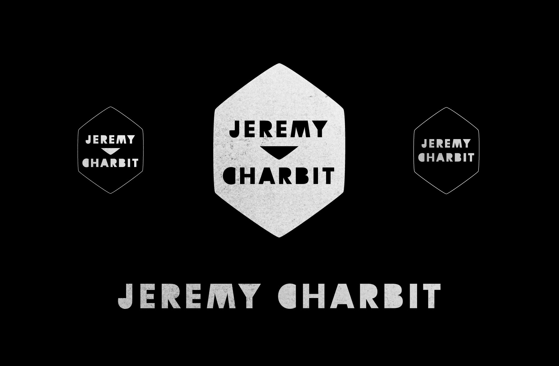 Jeremy Charbit logo by Liz Gill Neilson The Beauty Shop