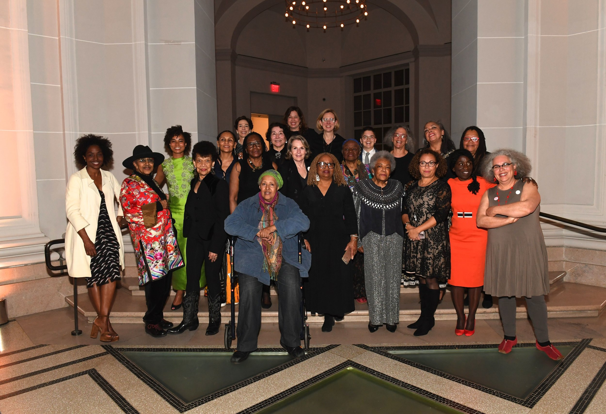 Opening Dinner for  We Wanted A Revolution: Black Radical Women, 1965-85  at the Brooklyn Museum (April 20, 2017). Photo credit: Elena Olivo