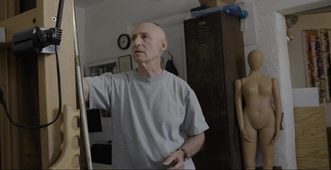 Geoffrey Laurence  in the studio