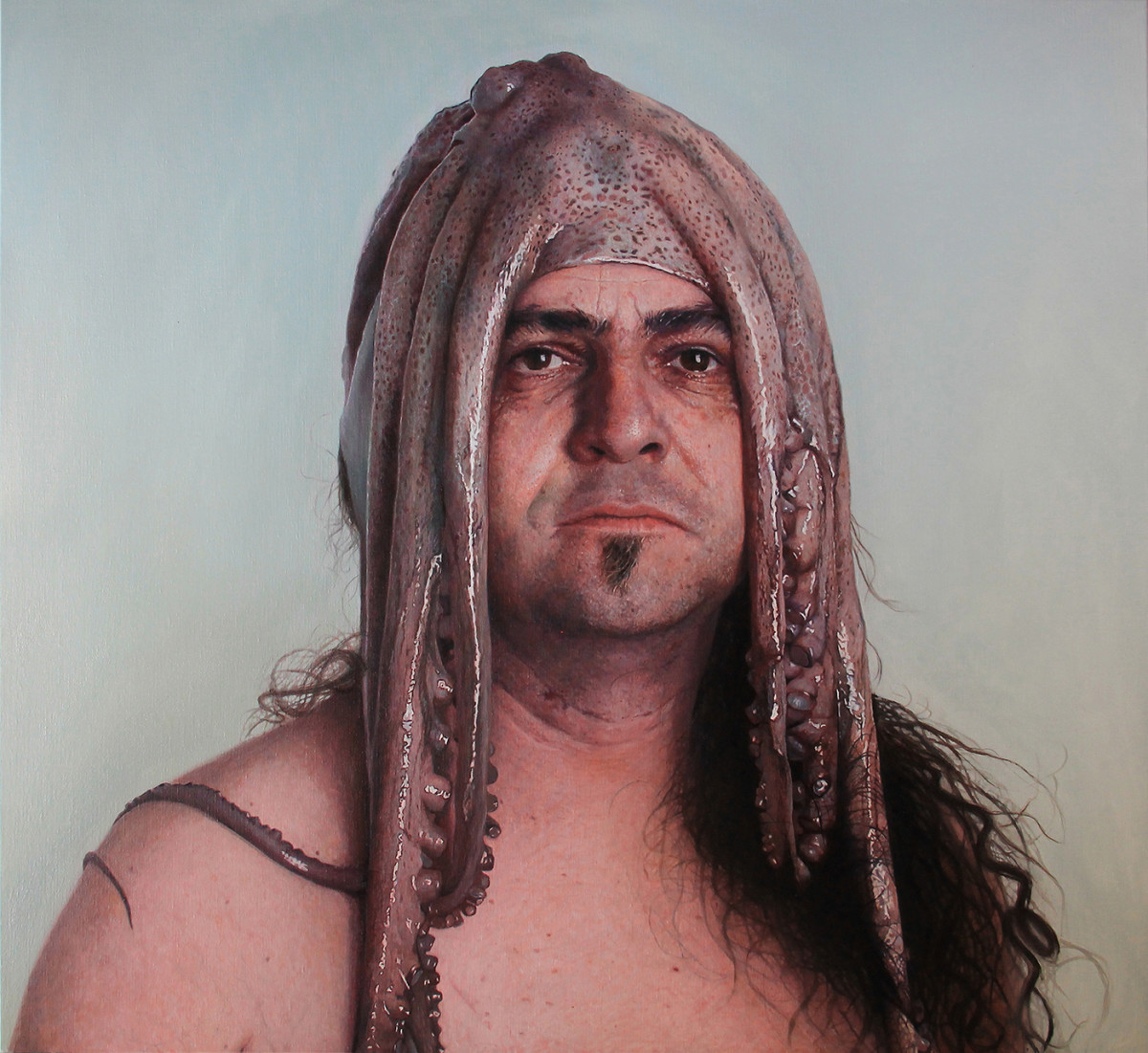 """Michel with octopus  