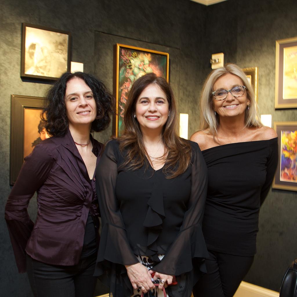Valentine Aprile, Victoria Herrera, and Barbara Hack.