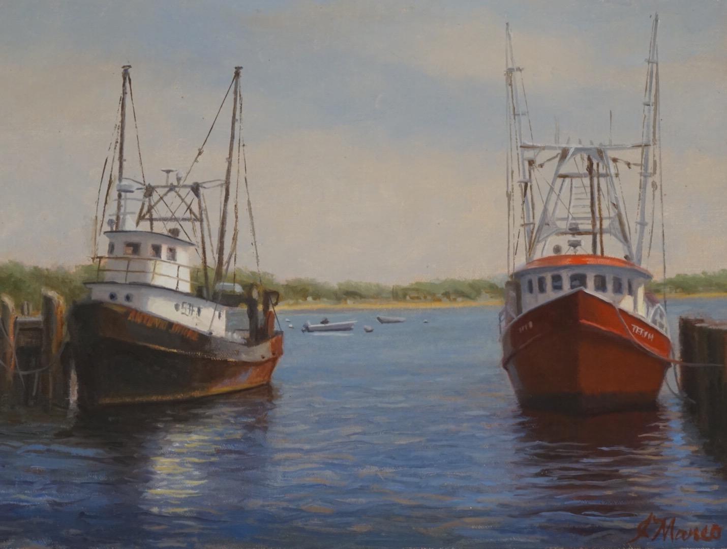 """""""FISHING BOATS- MAC MILLIAN PIER"""""""