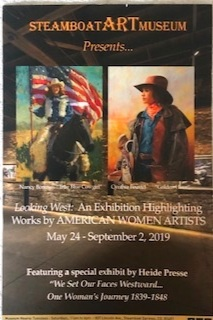 "American Women Artists  Steamboat Art Museum Exhibition  Steamboat Springs CO.  ""THE RED LURE "" - OIL  Summer - 2019"