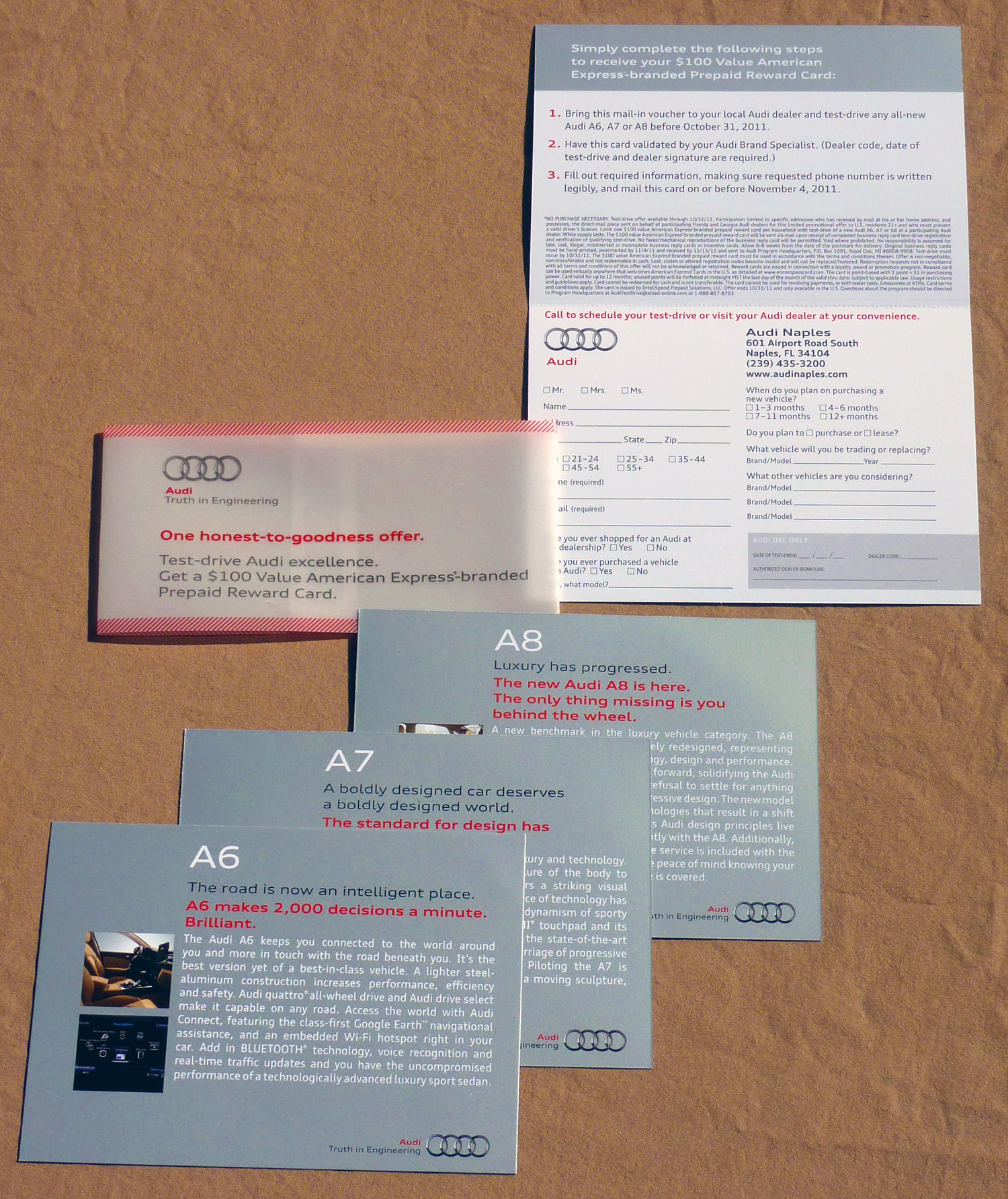 Direct Mail & Brochures — Ben Luckett