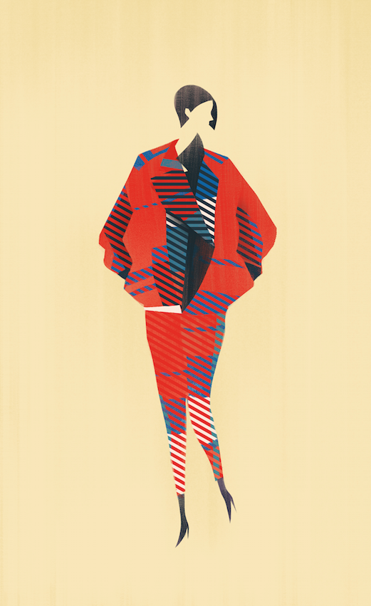 Issey Miyake Fashion Illustration