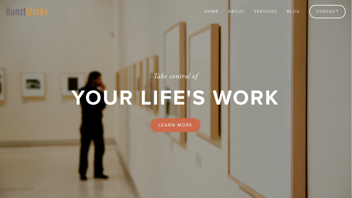 KUNSTWORKS   Website