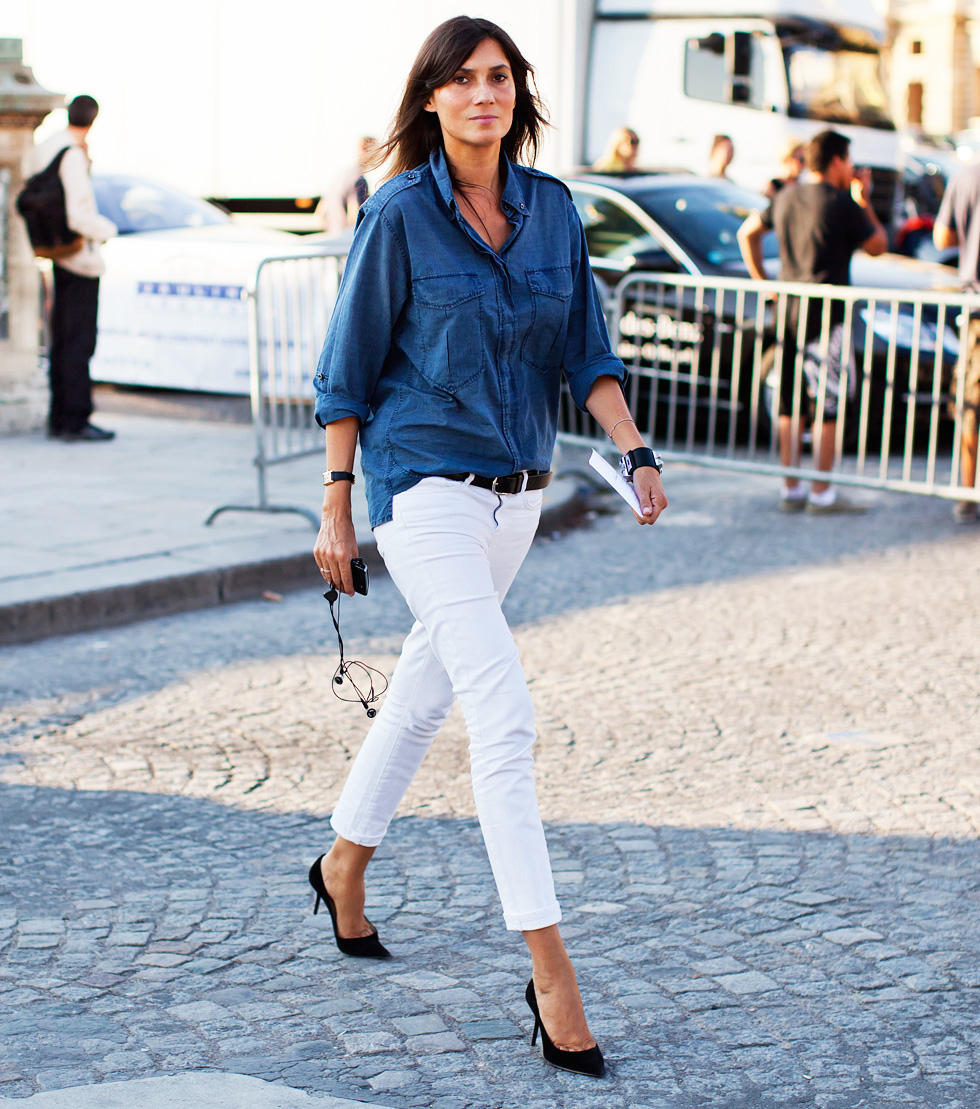 White Skinny Jeans _ Kind of Luxe.com