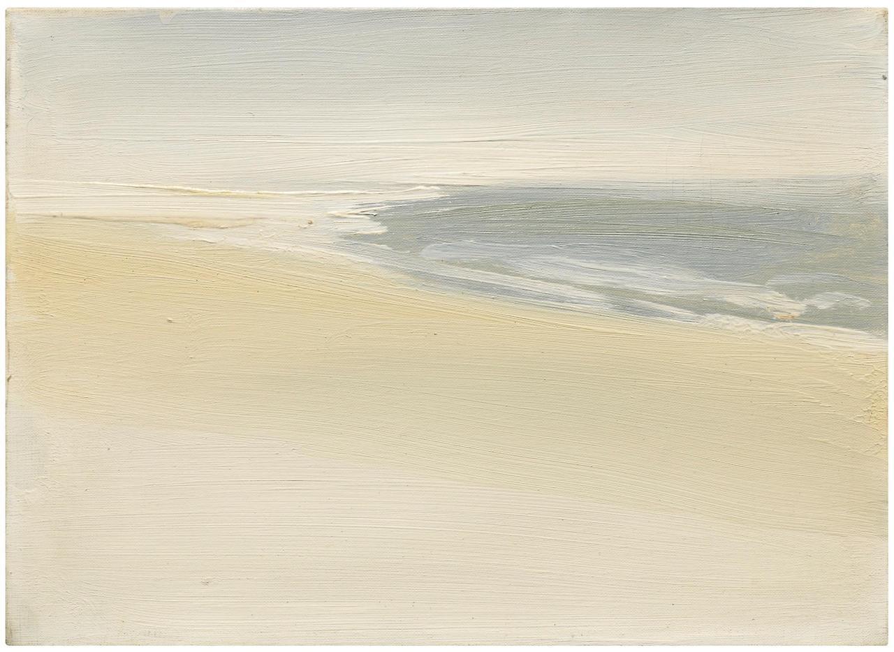 Nicolas de Staël, Paysage au bord de la mer (1954)