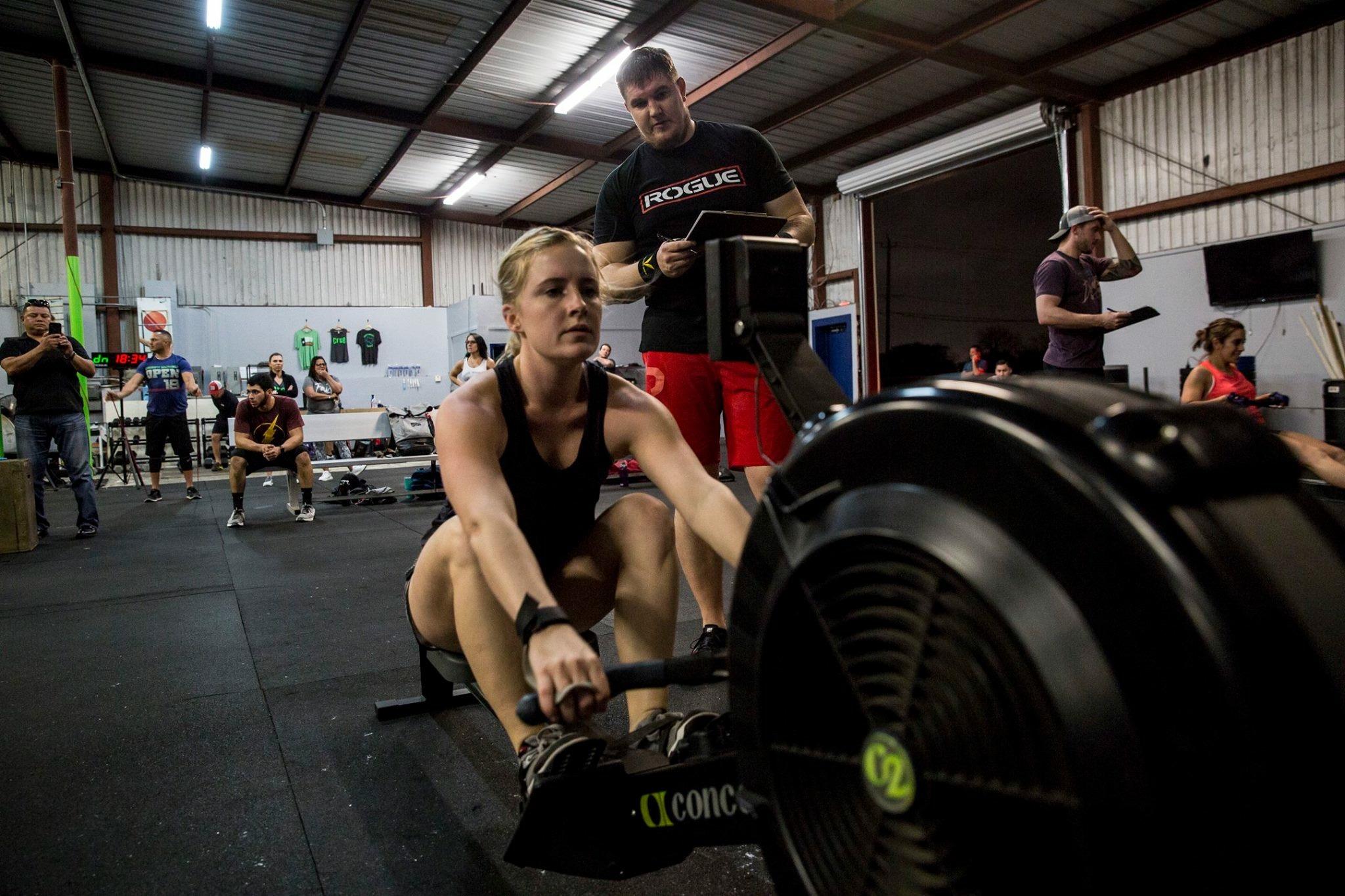Jessica Hardcastle - CrossFit TRAINERCF-L1