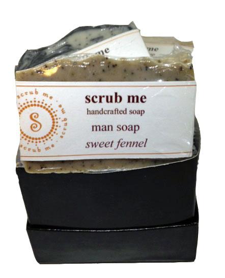 Man soap gift set