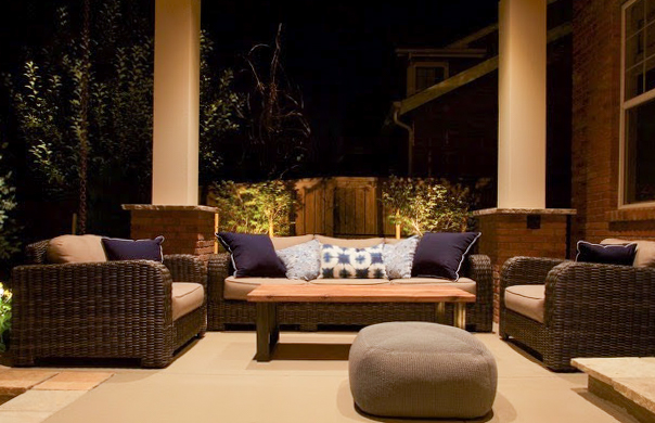 Dine Outdoors - We are here to help you entertain outdoors! From dining tables + benches, to coffee tables and end tables they all can be finished to live outside!