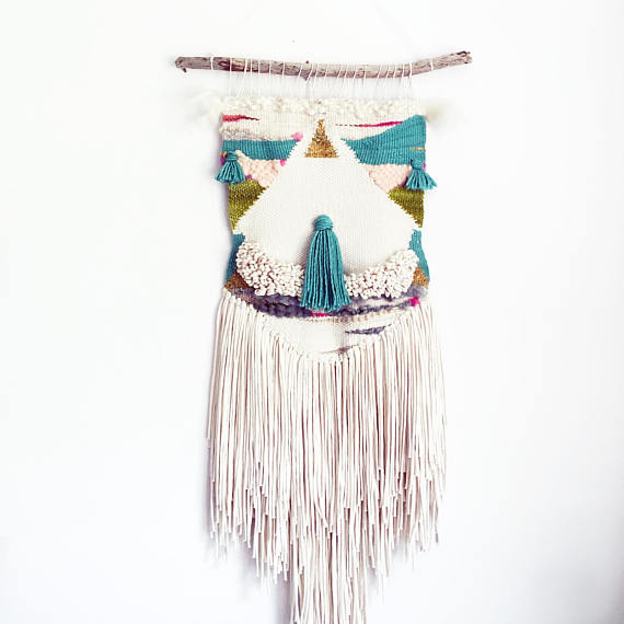 13. WOVEN WALL HANGING