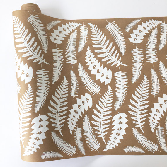 16. FERN GIFT WRAPPING PAPER