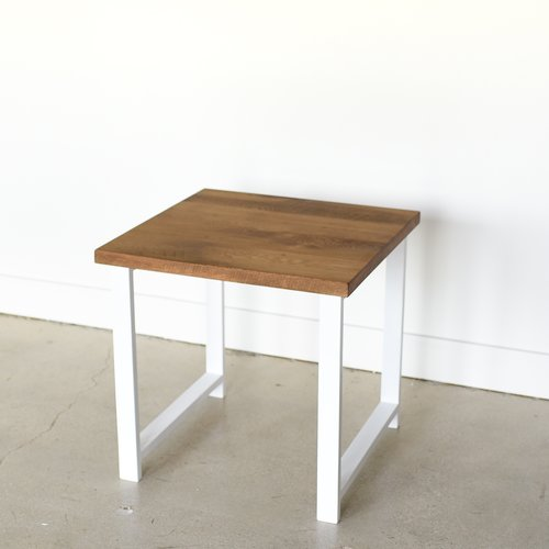 Nordic Reclaimed Wood End Table