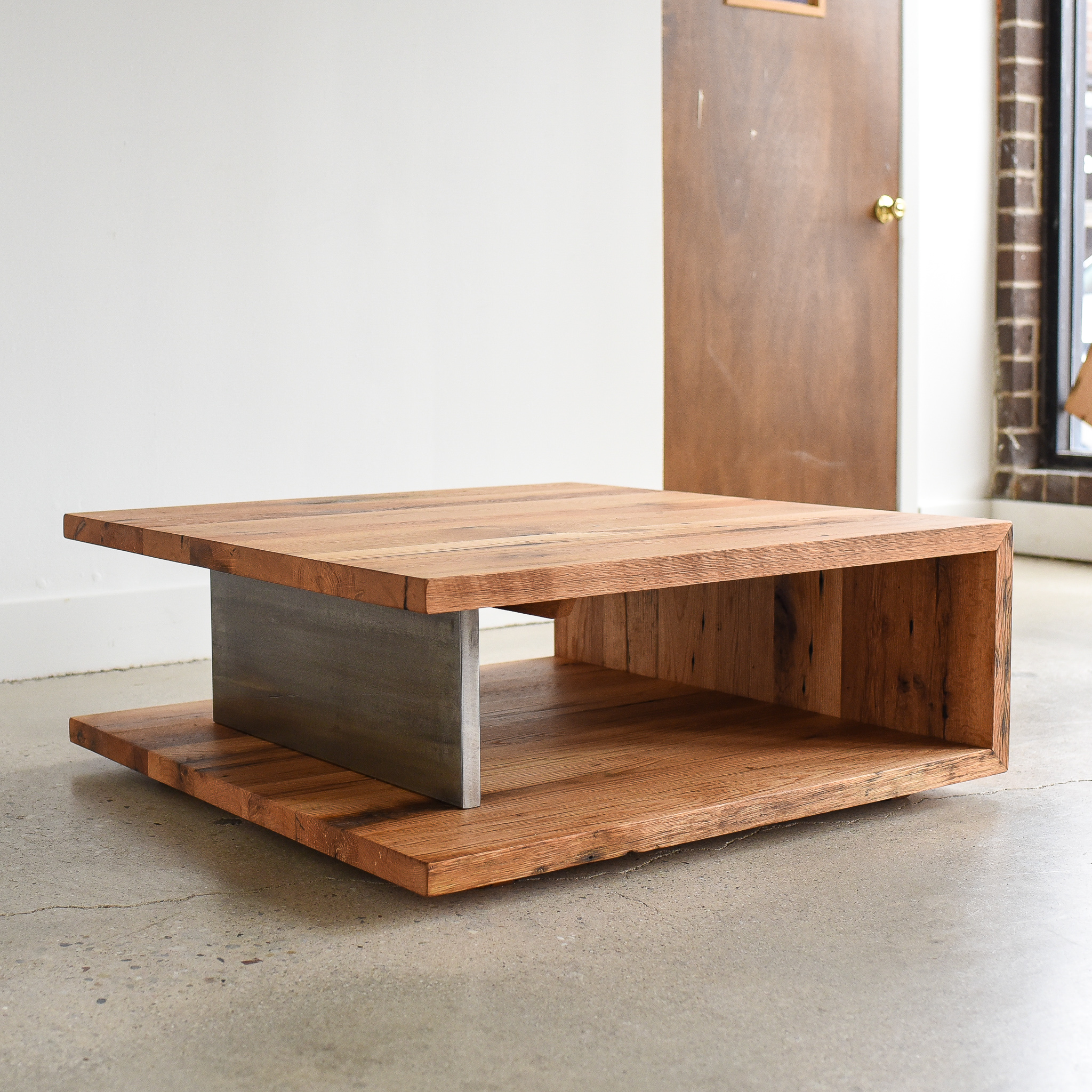 Modern Open Square Coffee Table