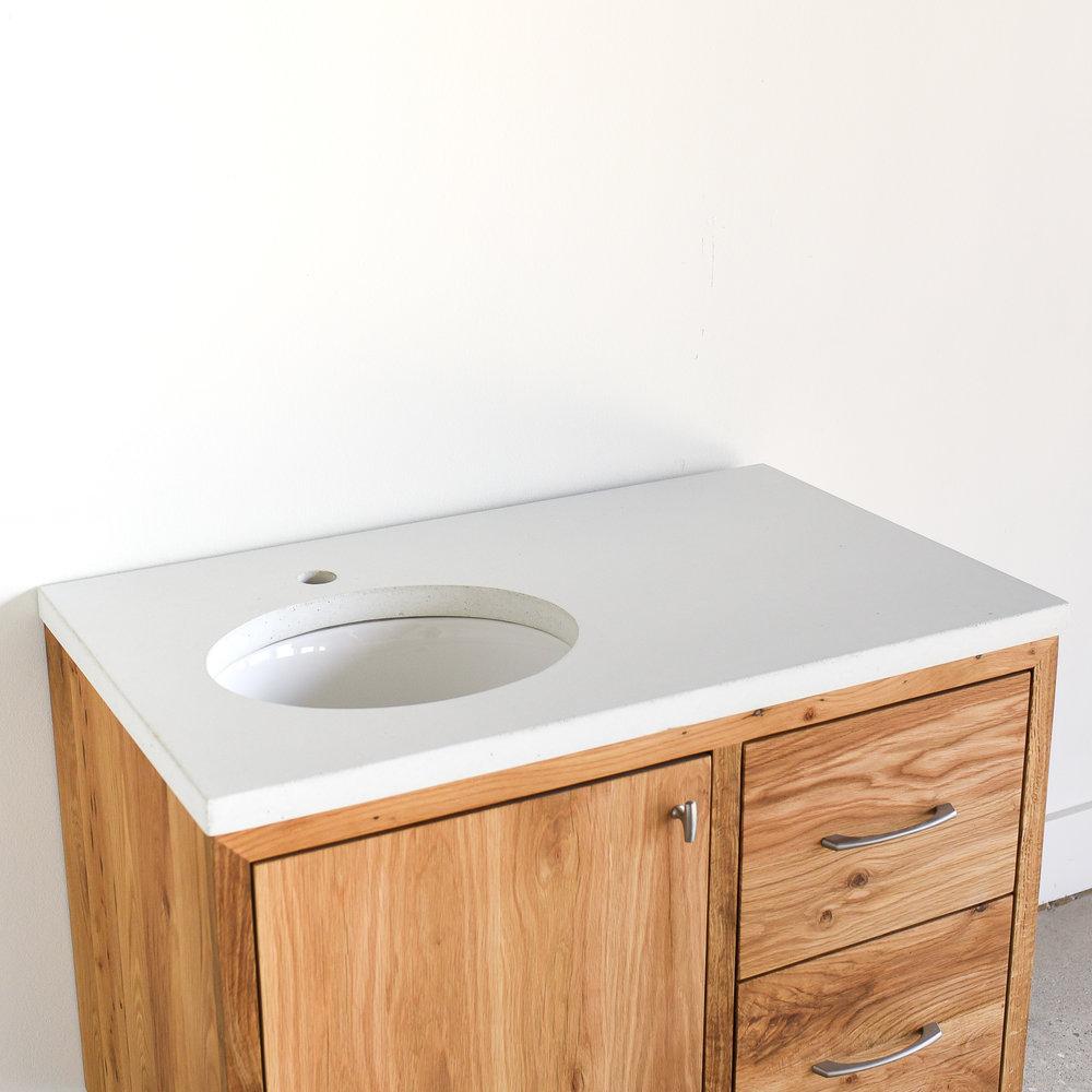 36 Reclaimed Wood Floating Vanity What We Make