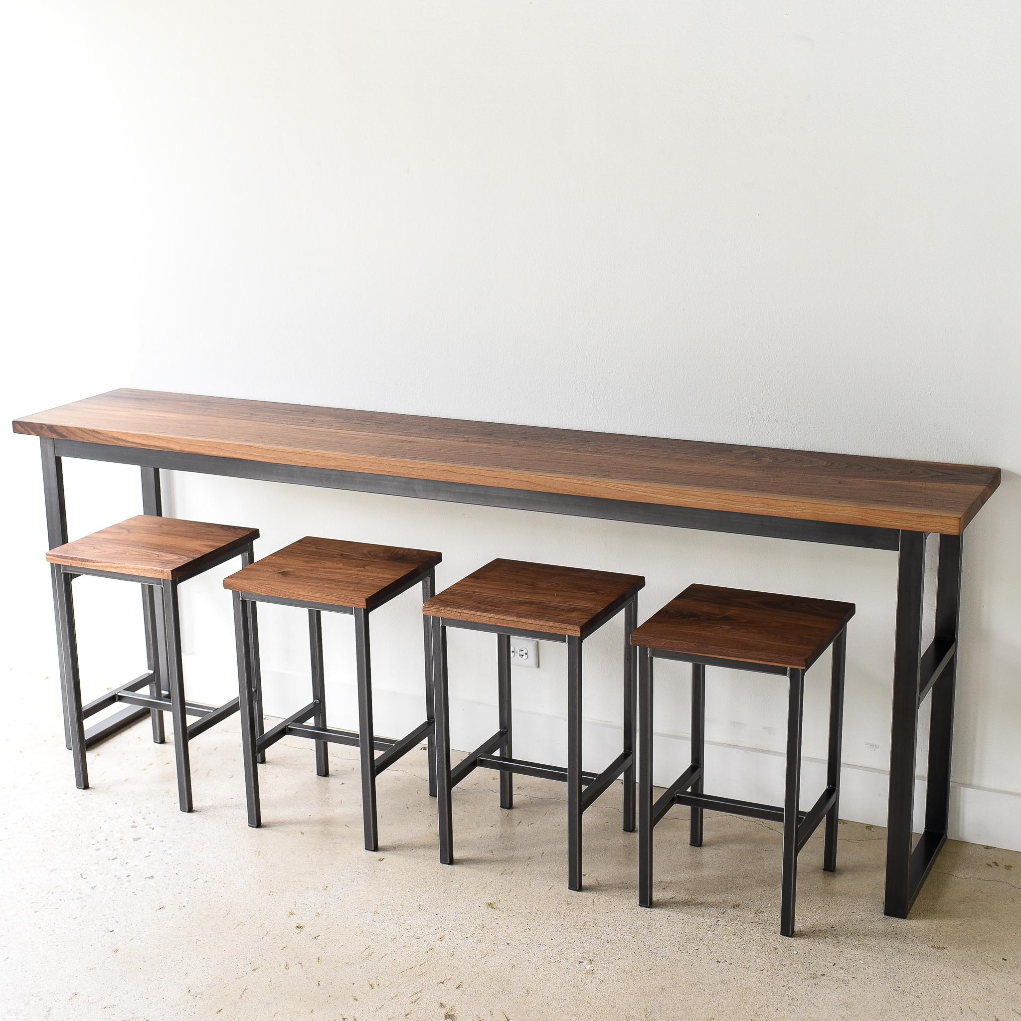 Walnut Pub Table What We Make