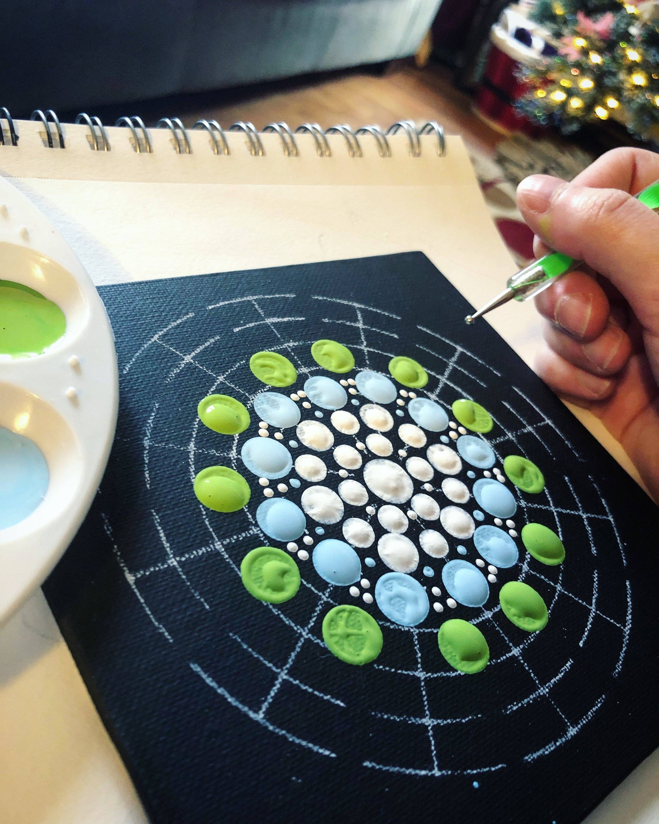 Dot mandalas have consumed my soul (or what was left of us)