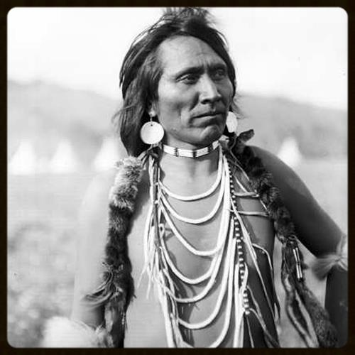 Yellow Rock (also known Joe Vanderburg and I'kaubut S'shensh) on the Flathead Indian Reservation, Montana, 1907