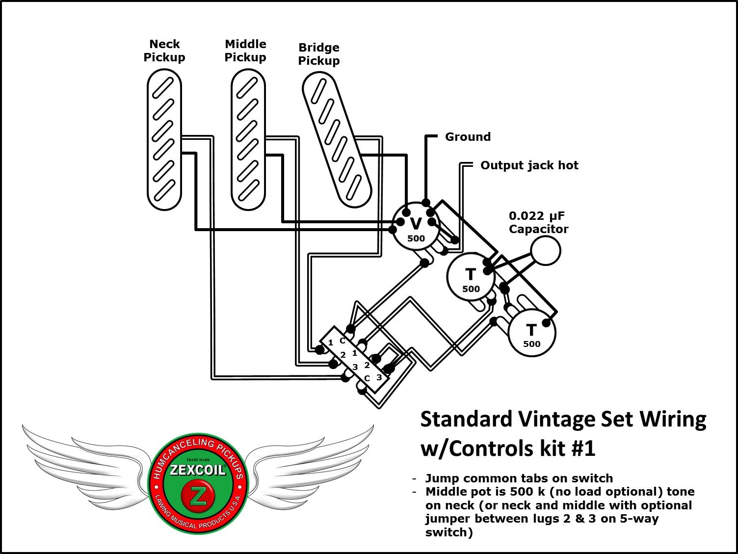 Controls Kit #1